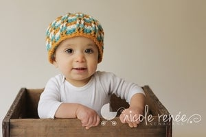 Image of Checkered Beanie