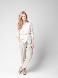 Image of Pellavahousut - Linen pants