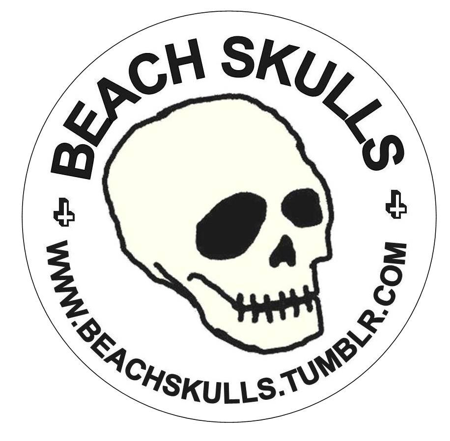 Image of Skull Bumper Sticker