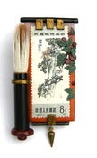 Image of Chinese Brush Painting Brooch