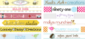 Image of Etsy Shop Banner, Avatar & Buttons
