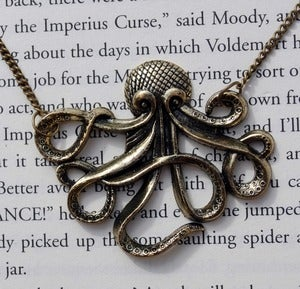 Image of Maritime Monster Giant Octopus Necklace