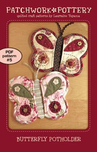 Image of Butterfly Potholder