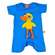 Image of blue duck romper, by Lipfish (9-12m only)