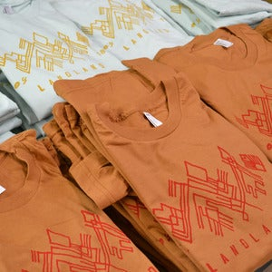 "Image of Landland ""Weird Glyph"" T-Shirts"