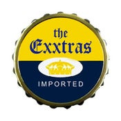 Image of THE EXXTRAS - Imported (Button)