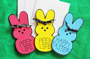 Image of Oh Strumpets Peep Life Greeting Cards