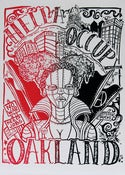 Image of Hella Occupy &quot;2AM&quot; Silk Screened Poster