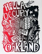Image of Hella Occupy - Mix &amp; Match 5 Silk Screened Posters