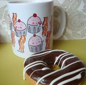 Image of Mugs: Bacon Cupcake Party!