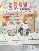 Image of PRINT: 8x10 Cupcakes at CBGB in NYC