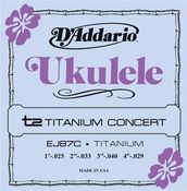 Image of D'Addario T2 Titanium Concert Ukulele Strings