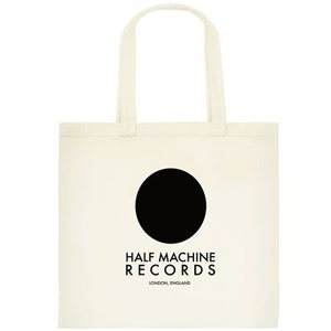 Image of HALF MACHINE COTTON TOTE BAG