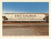 Image of Eric Church Cleveland 2012 Poster