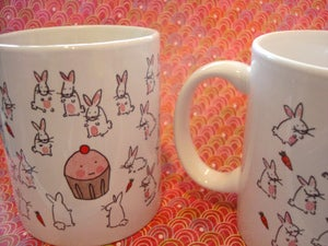Image of Mugs: Cupcake and Bunny Mug