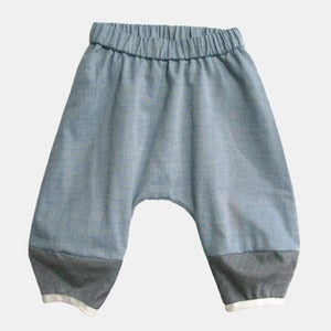 Image of Monkey Pants - Blue Oxford