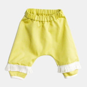 Image of Monkey Pants with Fringe - Sunny