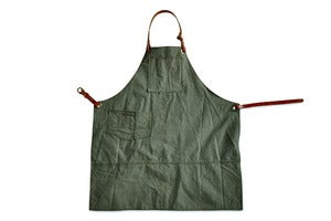 Image of Shop Apron (Vintage Army Canvas)