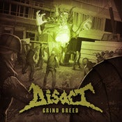 "Image of Disact - ""Grind Breed"" CD"