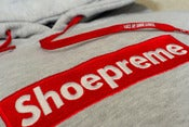 Image of Shoepreme Hoody - Grey/Red