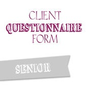 Image of Senior Questionnaire Form