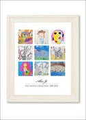 Image of Children's Artwork Displaylarge poster w/ 9 works of art
