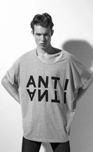 "Image of SS2012: Volume T-shirt unisex ""ANTI"""