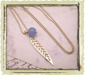"Jewelry: ""Lauren"" in Blue"