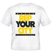 Image of Rep Your City Pittsburgh (white)
