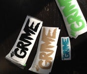 Image of GRIME VINYL DECALS