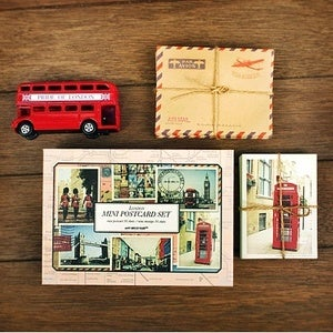 Image of Mini postcard set