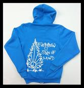 Image of Evergreen State Of Mind Full Zip Hoodie (Unisex)