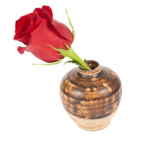 Image of 19th-C. Mini Ceramic Flower Pot