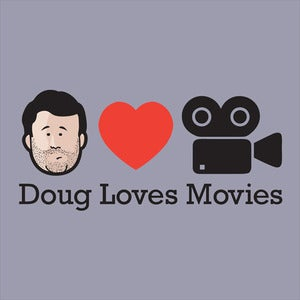 Image of Doug Loves Movies T-Shirt - Grey