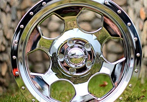 Image of 17x8 Chrome Robby Gordon Signature Series Wheel