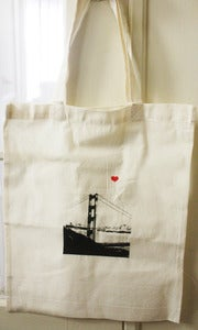 Image of San Francisco Lover's Tote Bag