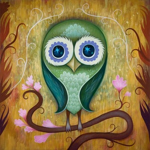 Image of Day Owl Limited Edition Print