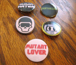 Image of Fly Mutant Buttons
