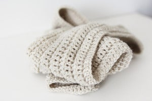 Image of Casual Scarf in Heather
