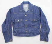 Image of Vintage 1950s MADEWELL Brand Sanforized Indigo Denim Jacket 42/44 M/L