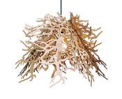 Image of Abstraction pendant light  (organic branches/cardboard)