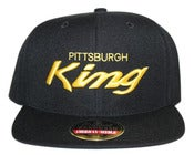Image of Pittsburgh King x American Needle snapback yel/blk OG