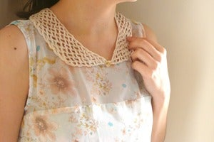 Image of Colbert Cuellos de ganchillo/Crochet collars