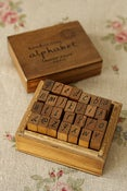 Image of Stamp Alphabet Box