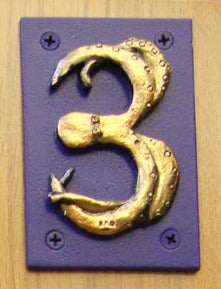 Image of House Number - Three - Octopus