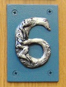 Image of House Number - Six - Lizard