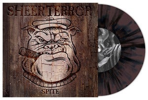 Image of Sheer Terror - Spite 7&quot; Brown/Black Splatter Vinyl