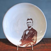 Image of Abraham Lincoln Plate by Justin Rothshank