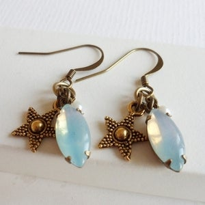 Image of Oceania Charm Earrings