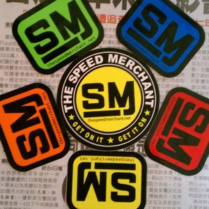 Image of Official Speed Merchant Sticker Pack